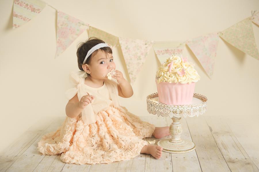 First Birthday Cake Smash Photographer