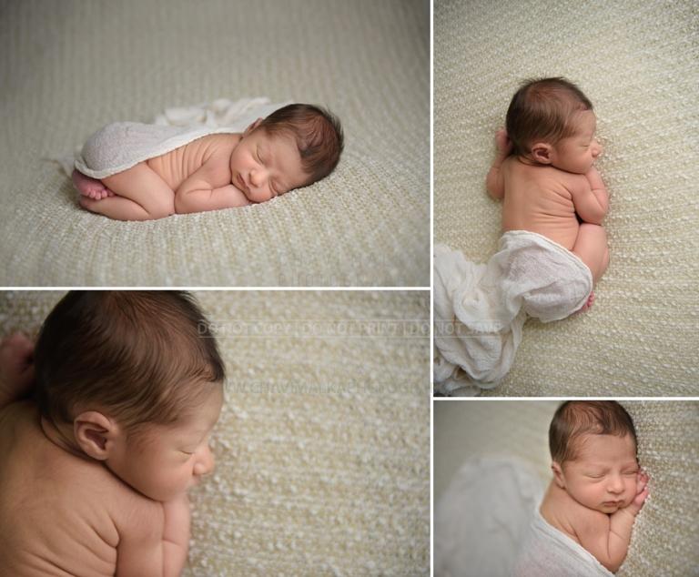 dreamy baby boy portrait