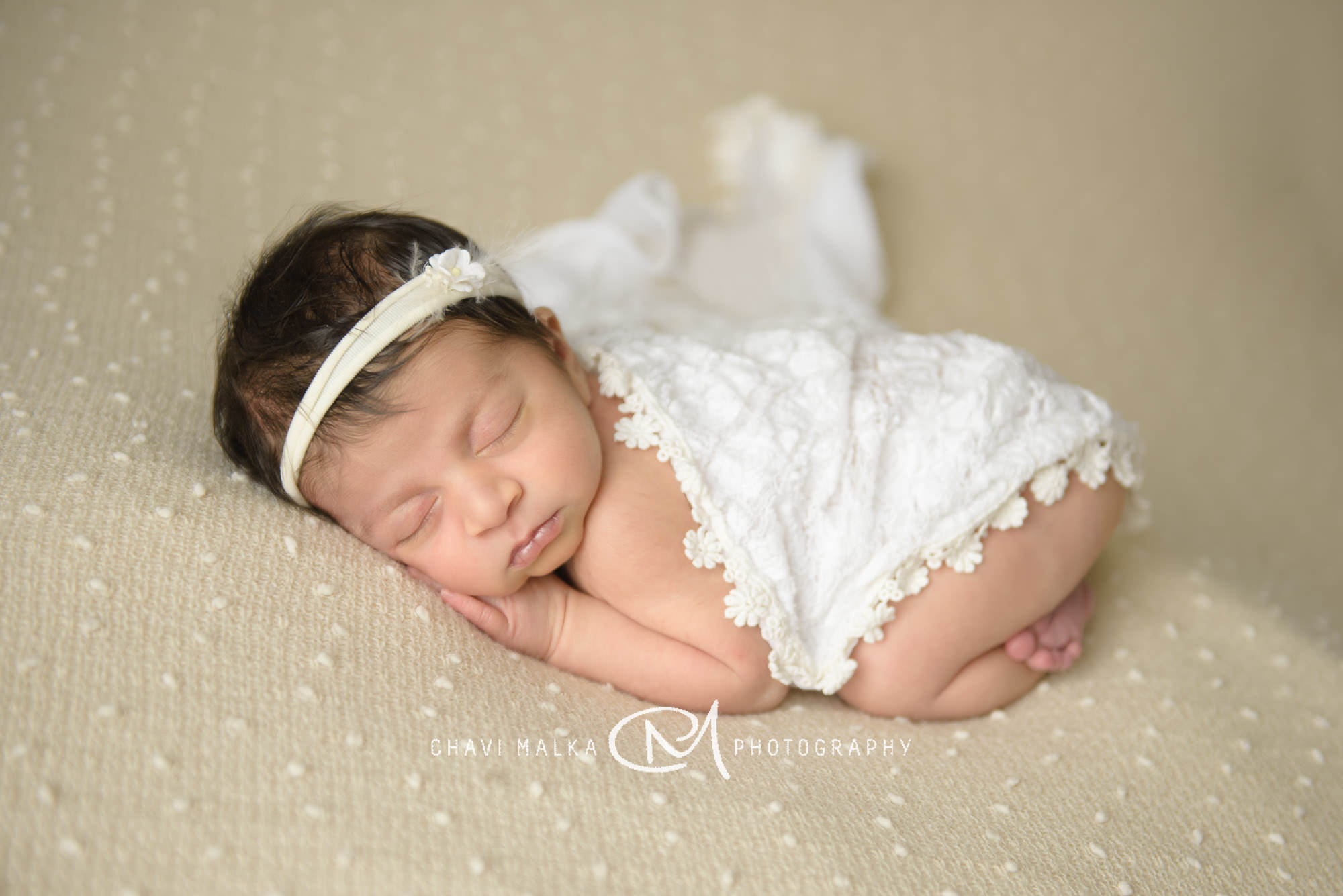 Delicate Newborn Girl Photos | Long Island Photographer