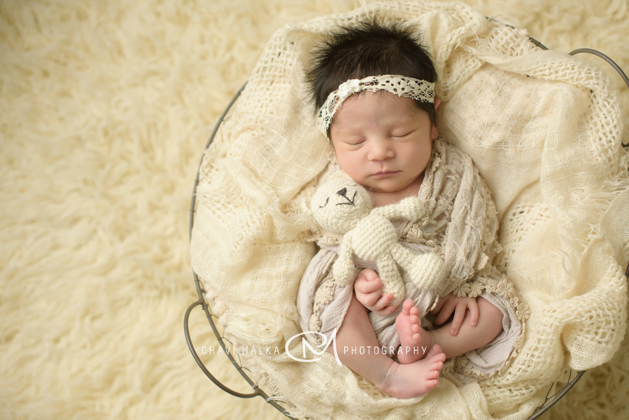 Awesome Newborn Hair! Long Island – NYC – Professional Newborn Photographer
